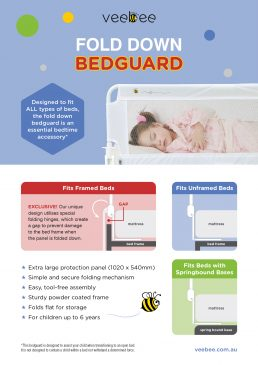 Fold Down Bed-guard