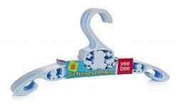 Kids Plastic Hangers (Pack of 6)