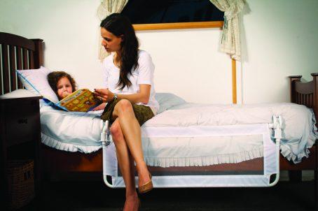 Mum Reading Bed guard