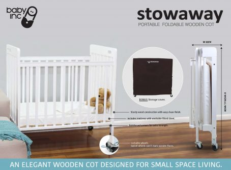 Stowaway Cot Product