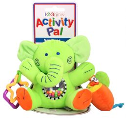 Activity Pal – Green Elephant