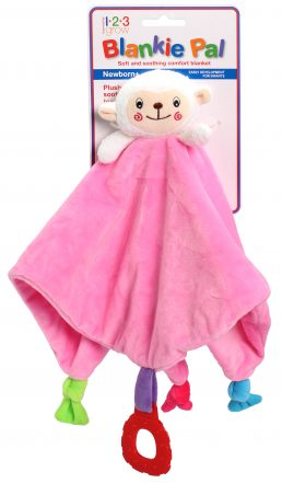 Blankie Pal – Lamb Pink